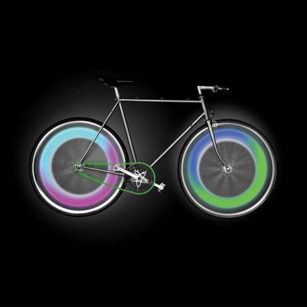 LED ventil za prikaz tlaka v pnevmatikah