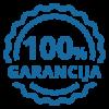 100 % garancija na zadovoljstvo