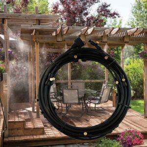 Sistem za hlajenje z vodno meglo