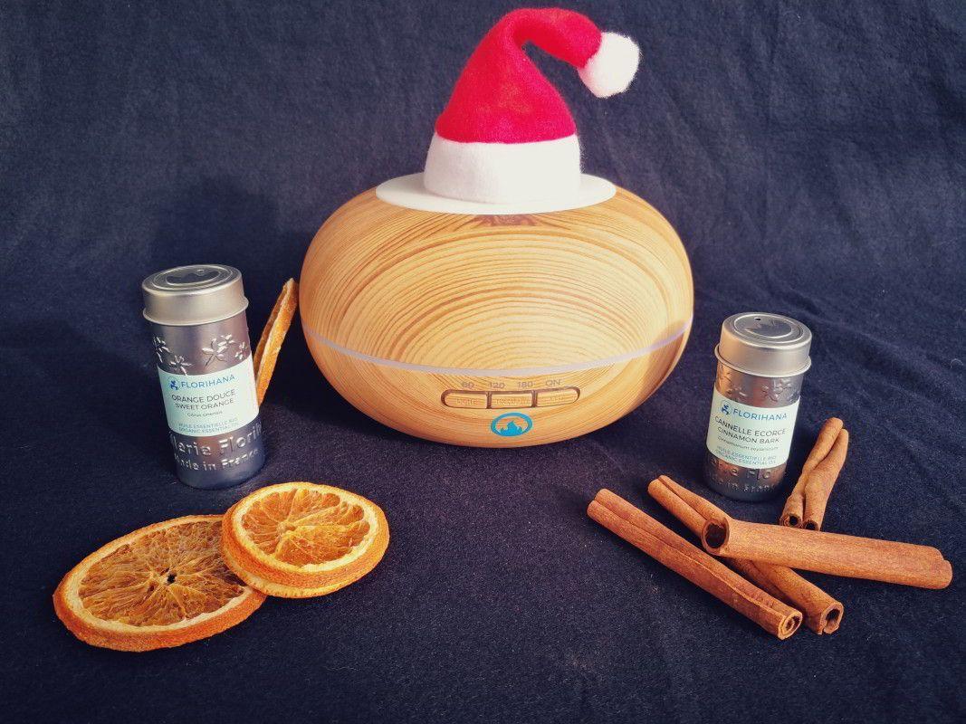 Darilni paket amor - difuzor Azalea ter eterična olja Sladka pomaranča in Skorja cimeta