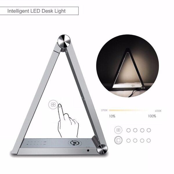Triangle namizna svetilka - bela
