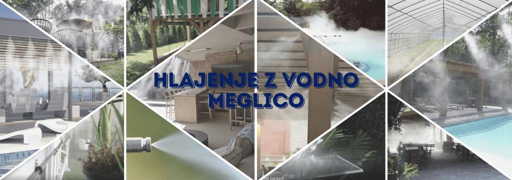 Hlajenje z vodno meglico - PIRO Spletna trgovina