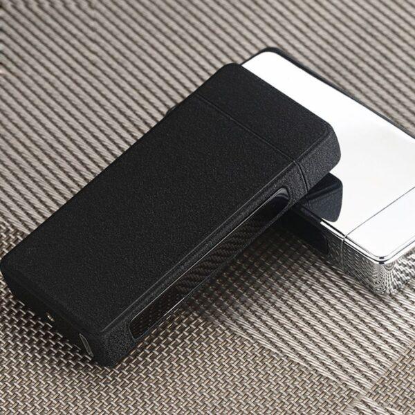 Luksuzen USB vžigalnik - dark knight