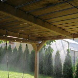 SIMPLE middle - sistem za hlajenje z vodno pršico