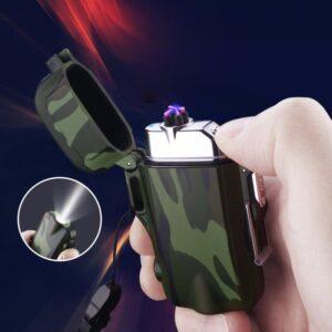 USB plazma električni vžigalnik - Camo