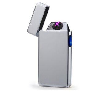 USB plazma električni vžigalnik - Silver