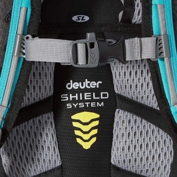 Zaščitni ženski kolesarski nahrbtnik Deuter Attack 18 SL | PIRO spletna trgovina