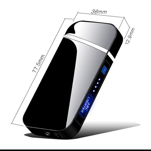 Električni USB vžigalnik - Obsidian   PIRO spletna trgovina